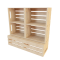 Palette Wood Wall Shelf 13D View