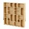 Palette Wood Wall Shelf 23D View