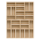 Palette Wood Wall Shelf 4Front