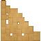 Palette Wood Wall Shelf 9Back