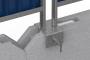 Clôtures de chantier H 1.00 mLeft