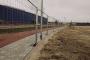 Clôtures de chantier à sceller3D View