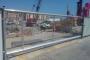 Portail de chantier coulissant autoportantArrière
