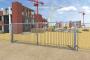 Portail de chantier pivotantTop