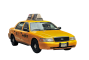 1995er Ford Crown Victoria New York Taxi 1DIFFUSE