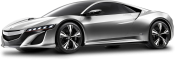 Acura NSX Gray Car 1PREVIEW