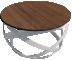 Table basse rondeLeft